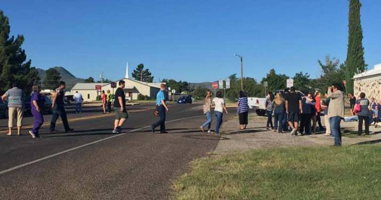 Shots Fired at Texas High School, 2 injured, Shooter Dead, Sheriff says