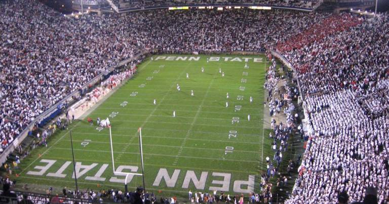 "Penn State Police Give ""All-Clear"" at Beaver Stadium"