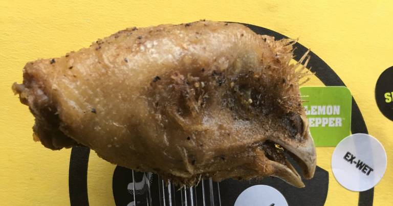 Buffalo Wild Wings Serves Jared Cook Chicken Head With His Wings