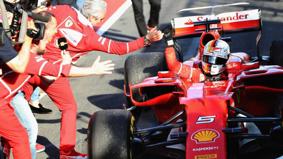 Ferrari's Sebastian Vettel wins Season Opener In Melbourne