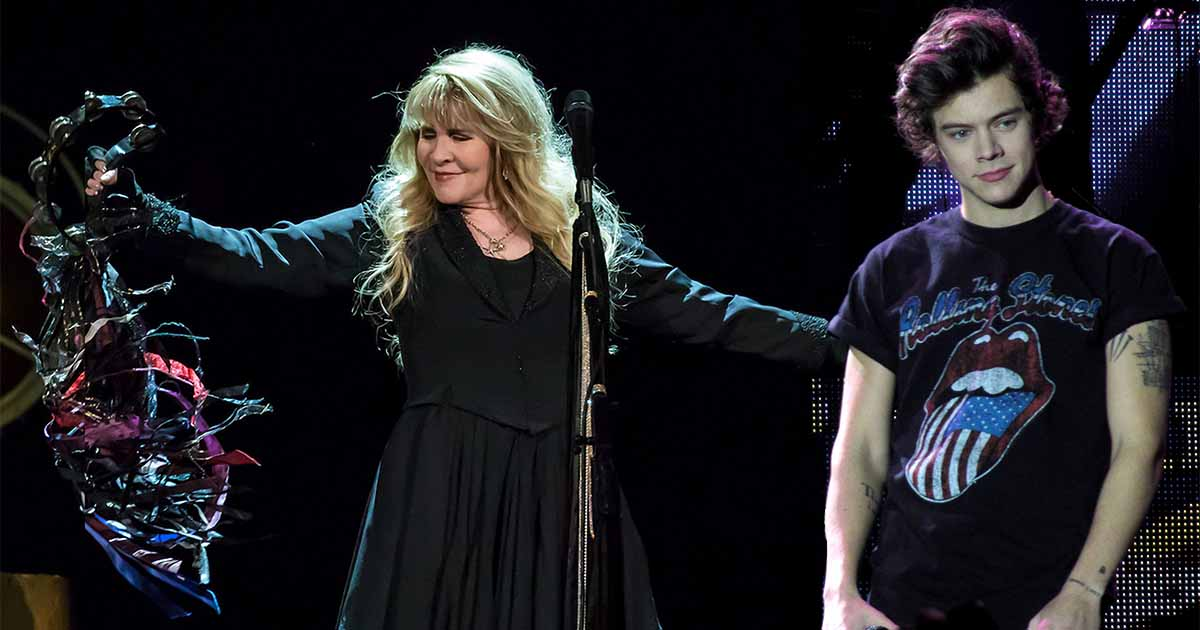 Harry Styles and Stevie Nicks Sing Duet of Two Ghosts and Landslide