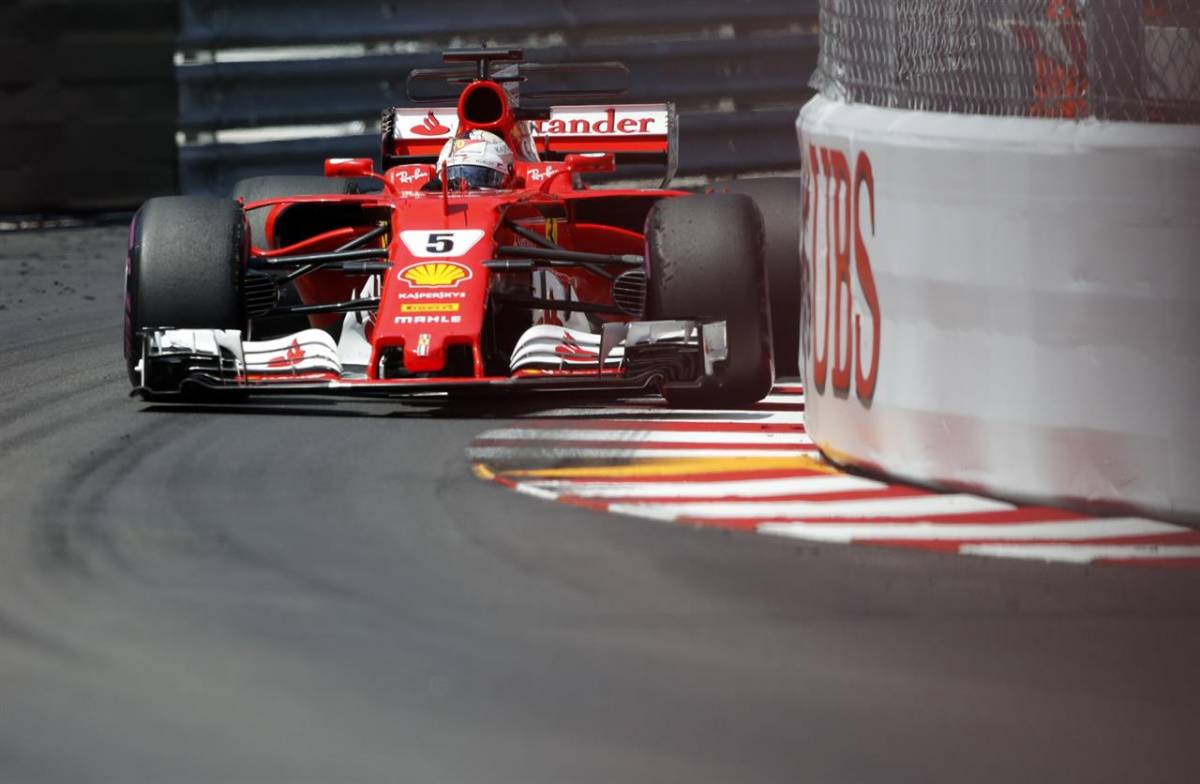Vettel, Raikkonen And Ferrari Dominant In 1-2 Finish