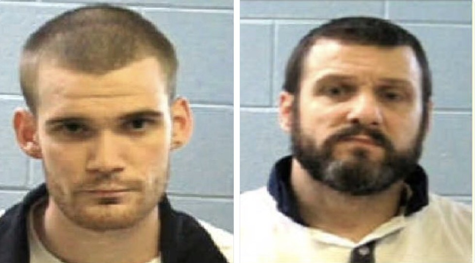 Two escaped Georgia inmates captured in Tennessee
