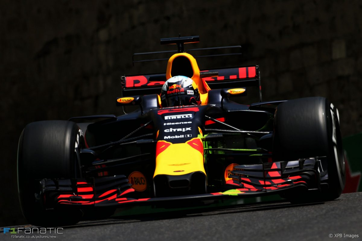 Chaos, Carnage And Confusion As Ricciardo Wins In Azerbaijan