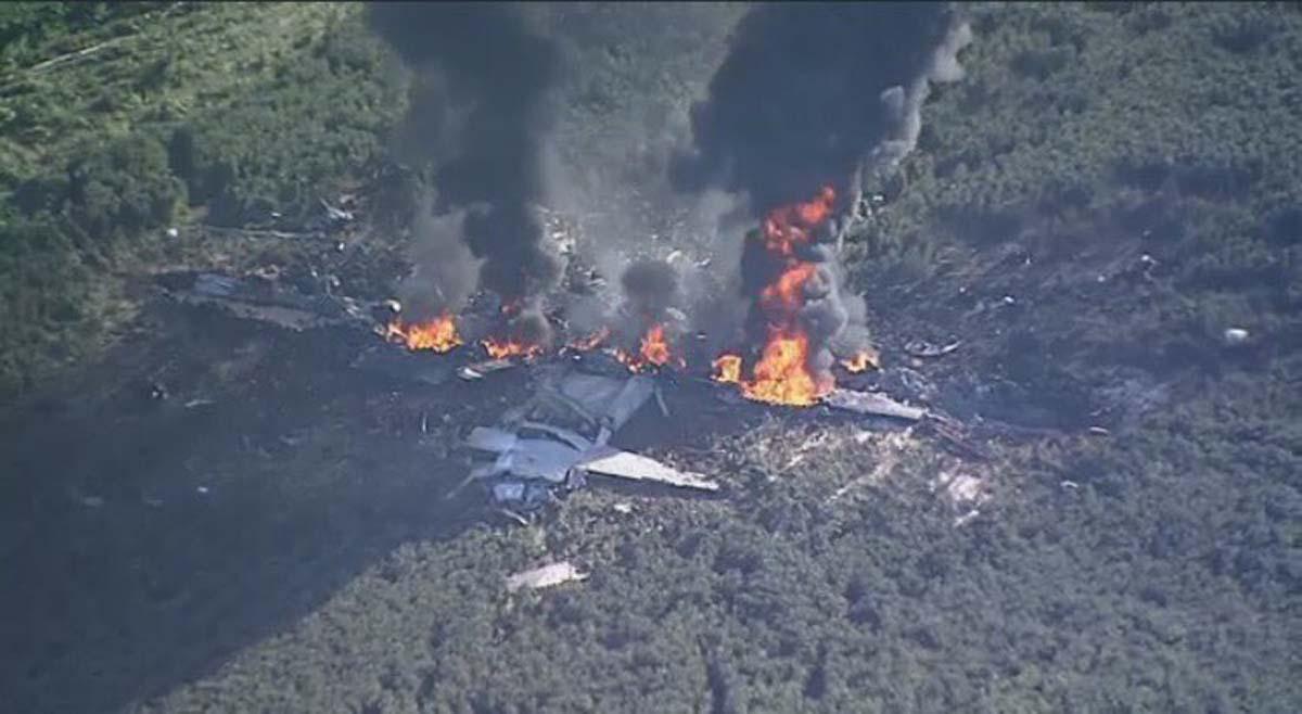 16 Dead After U.S. Marine Corps Transport Plane Crashes in Mississippi