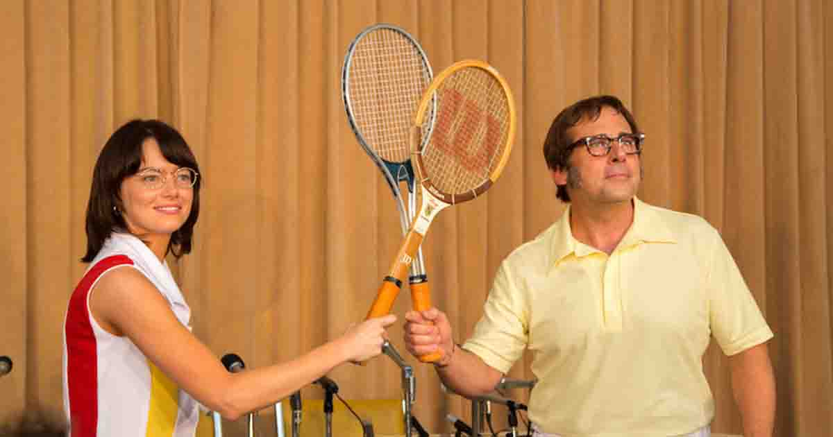 "Review: ""Battle of the Sexes"" Combines Feminism and Tennis Into a Decent Comedy"